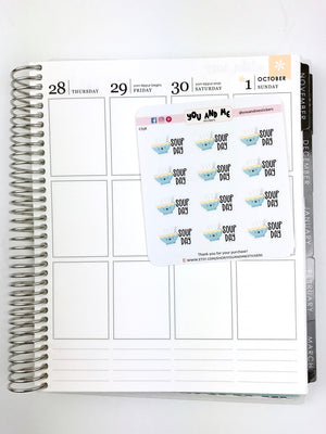 Kawaii Stickers | Planner Stickers | Erin Condren | CS58