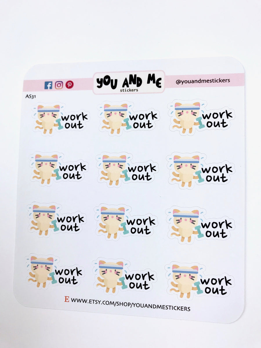 Character Stickers | Planner Stickers | Erin Condren | Happy Planner | AS31