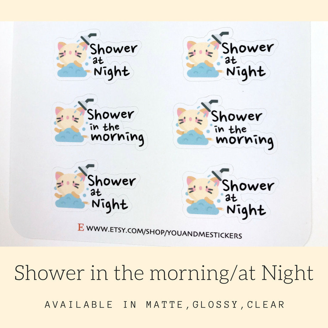 Shower Stickers | Character Stickers | AS36