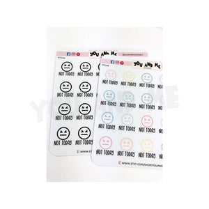 Emoticon Stickers | Planner Stickers | Erin Condren | IFS74
