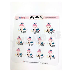 Character Stickers | Planner Stickers | Katie | Erin Condren | AS21