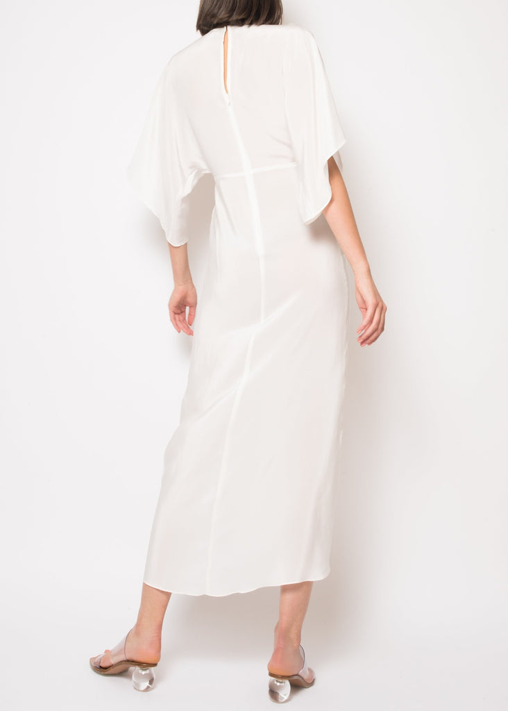 Katherine White Maxi Dress