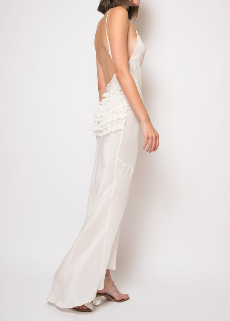 Angelique Backless Long Slip Dress