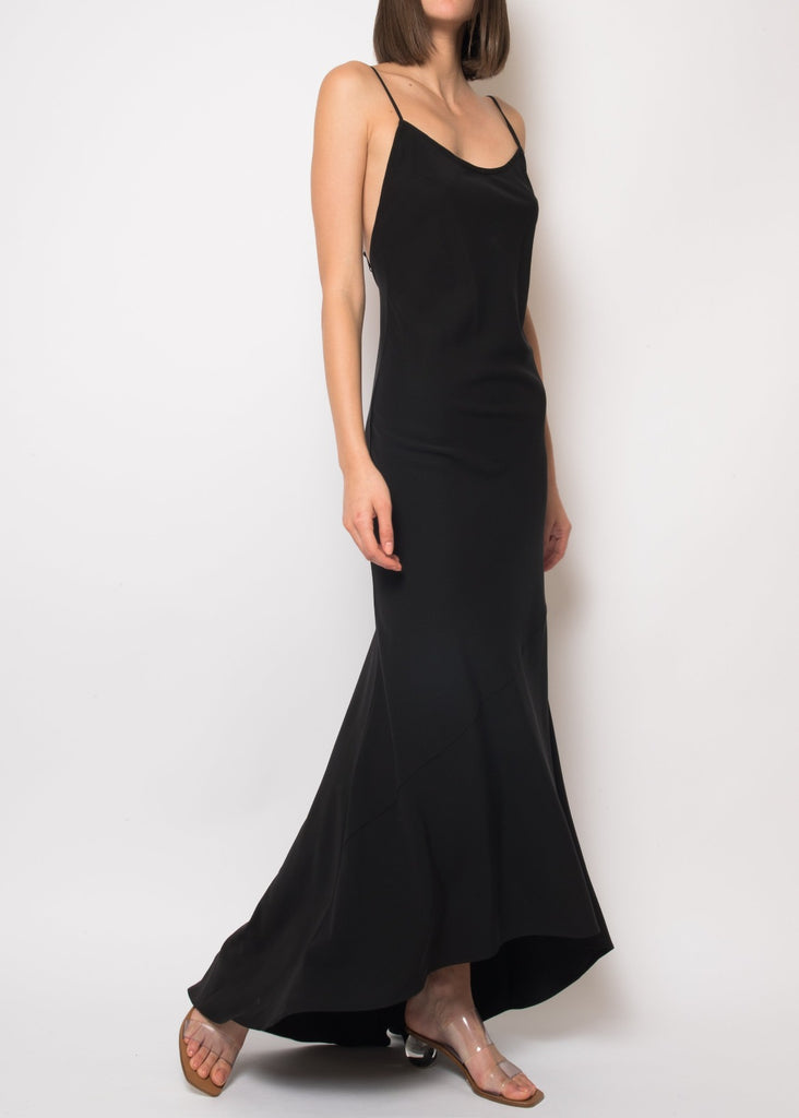 Amanda Backless Slip Dress