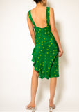 Tacoma Green Carrie Dress