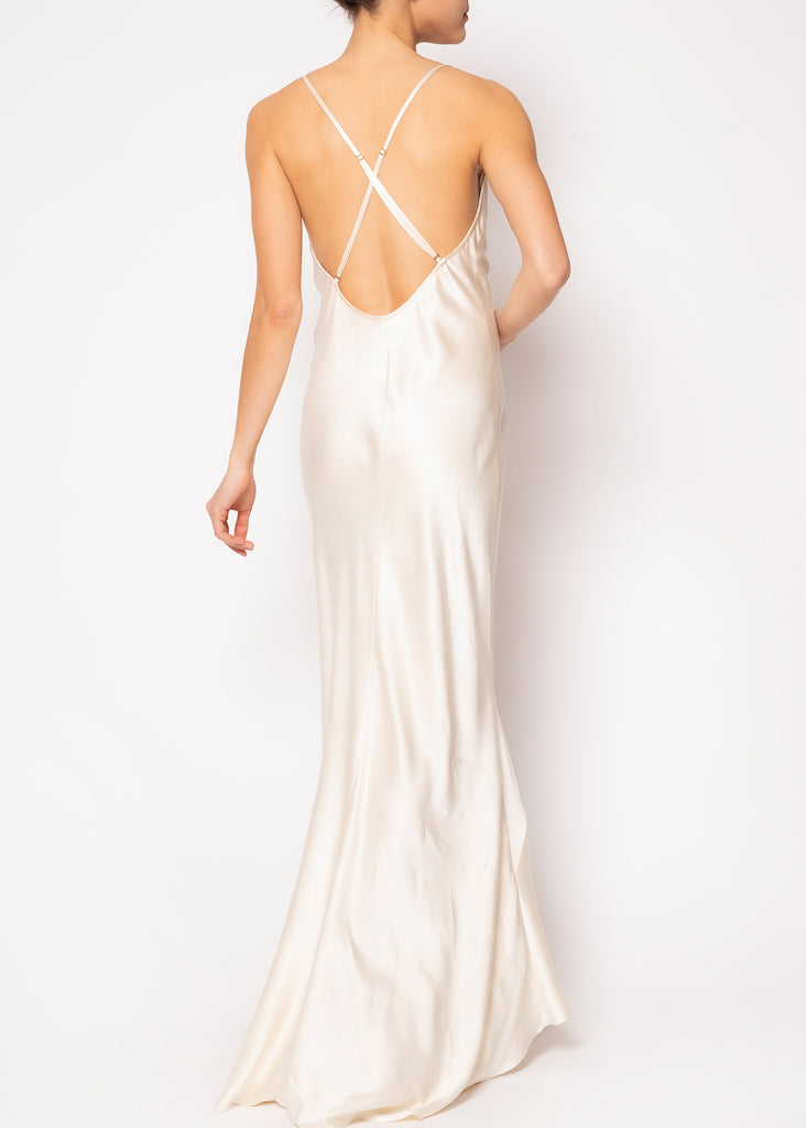 Amber Backless Slip Dress
