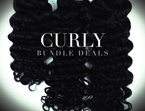 100% Raw Indian Curly Bundle Deals