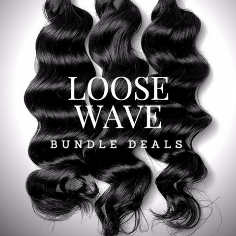 100% Raw Indian Loose Wave Bundle Deals
