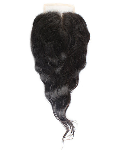 Wavy Swiss Lace Closure