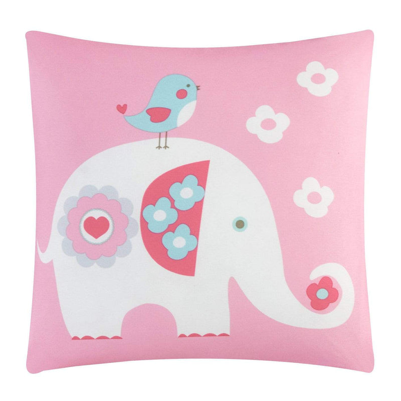 Chic Home Elephant Garden 5 Piece Youth Comforter Set Cute Elephant Owl Friends Bedding