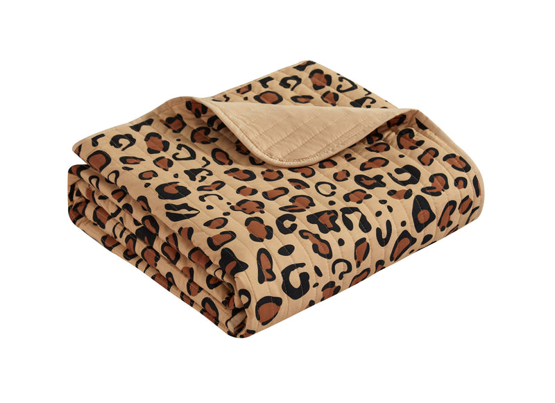 Chic Home Wild Cheeta 9 Piece Quilt Set Cheetah Animal Print Bedding