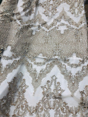 Cathedral Hand Beaded Lace