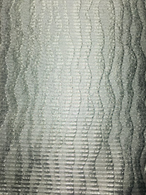 Wave metallic brocade