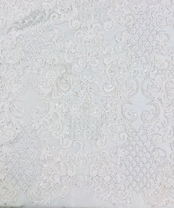 French Lace Roman Design