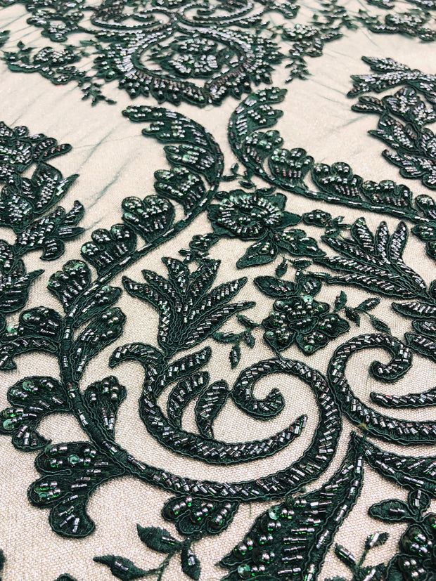 Duchess Hand Beaded Lace