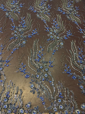 Khal Hand Beaded Lace