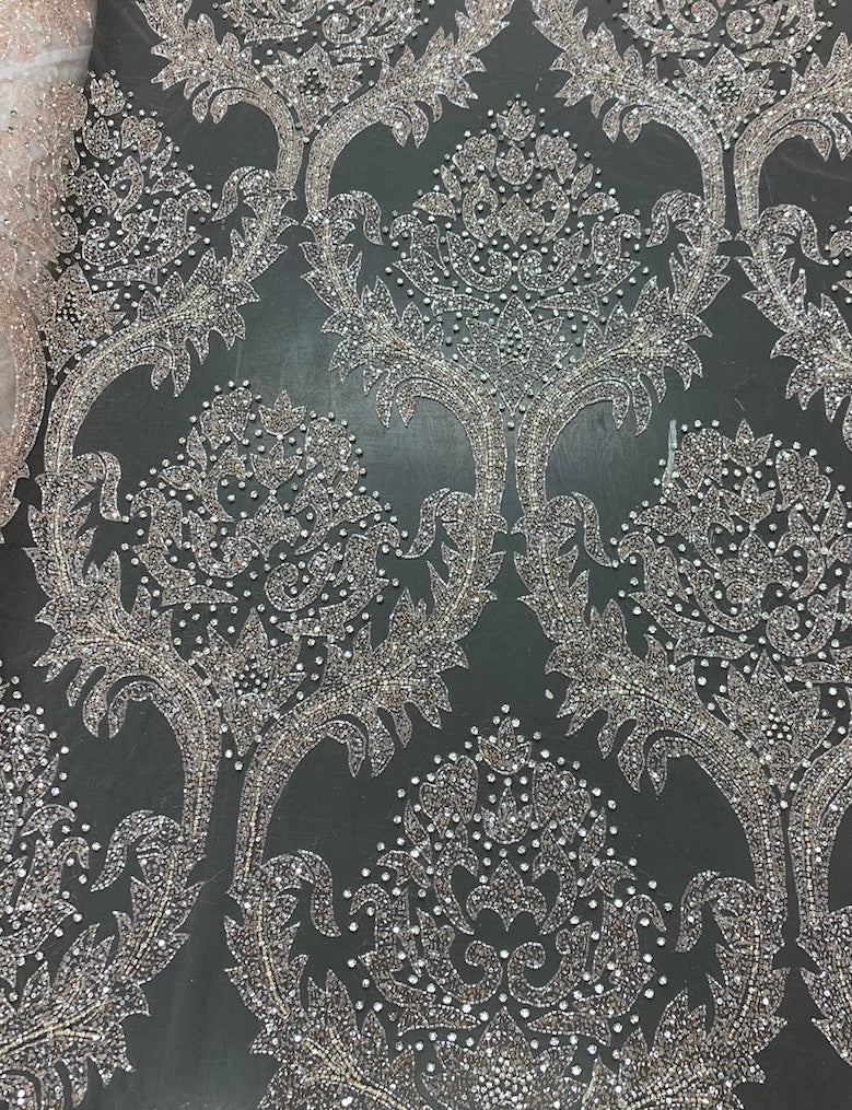 Hand Beaded Lace