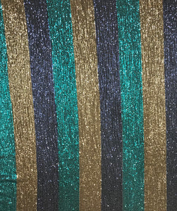 Pleated Stripes Sequin