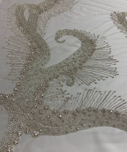 Rhinestone Hand Applique