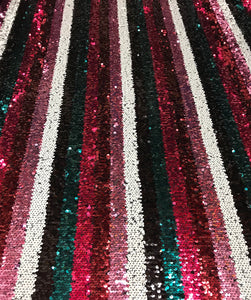 Reversable Sequin Stripes