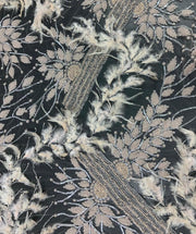Feather Lace with Beading