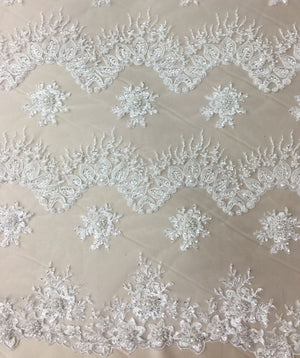 Jackie Hand Beaded Lace
