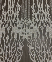 Early Hand Beaded Lace