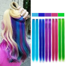 Vigorous Long Straight Clip In One Piece Hair Extensions 20 Inch