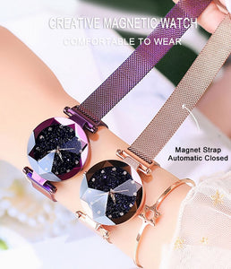 Unique Luxury Crystal Starry Sky Stainless Steel Mesh