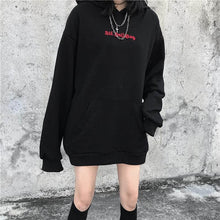 Cute Hoodies Punk Gothic Devil Horn