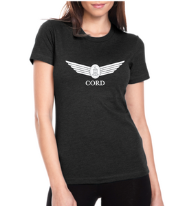 Women's Crew Neck Black T-Shirt
