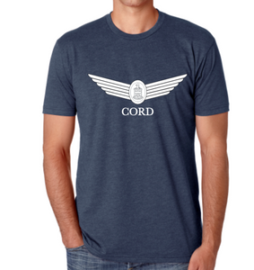 Men's Classic Blend Indigo Crew T-Shirt