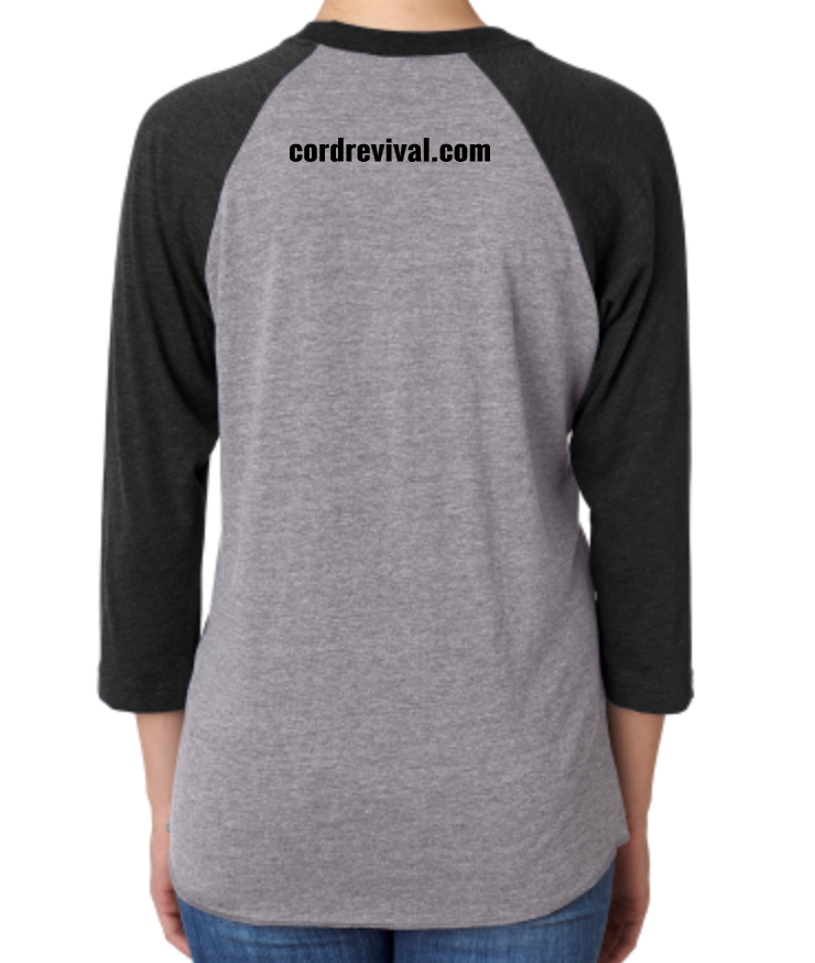 Triblend 3/4-Sleeve Raglan T-Shirt