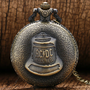 AC/DC Pocket Watch