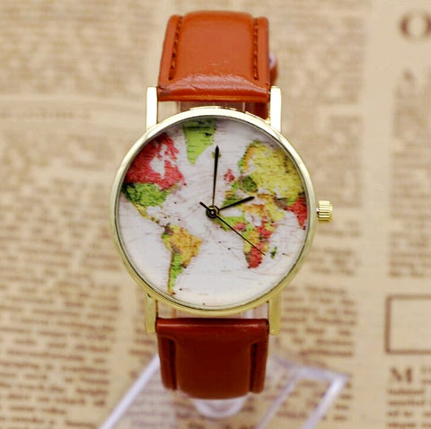 Greenwich Map Wristwatch