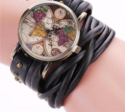 Amelia Earhart Retro Wristwatch