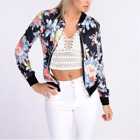 Autumn Flower Floral Jacket