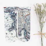 Tomina Retro Map Socks
