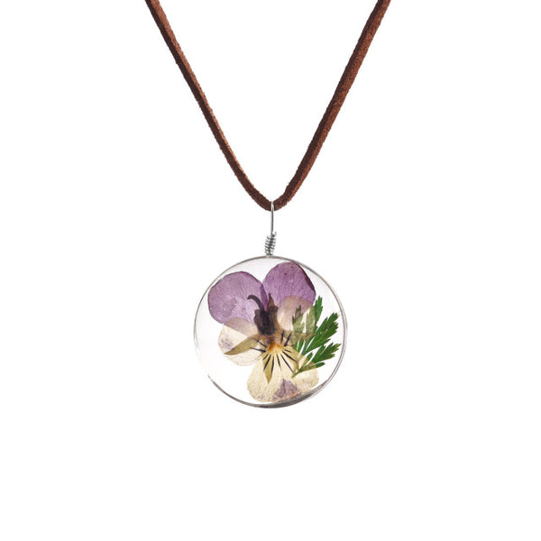 Engel Dried Flower Necklace