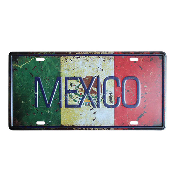 Countries Car Plates