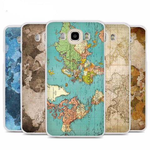 World Map Phone Case