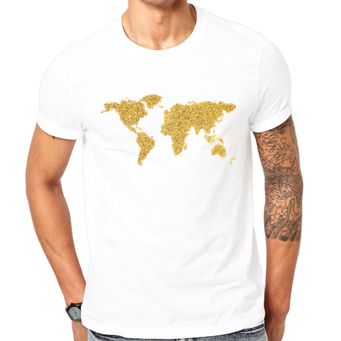 TEEHUB World Map T-Shirt