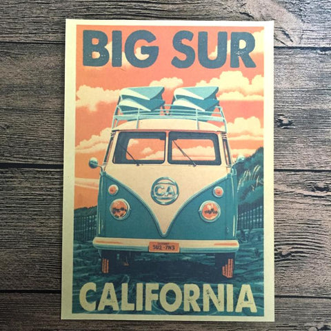 California Vintage Poster