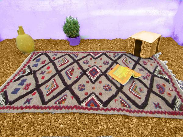 The Moroccan berber rug vary from region to region.