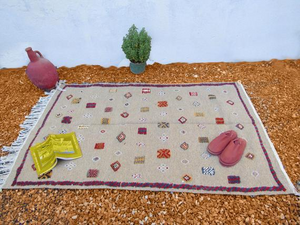 The charming Moroccan Berber Rug