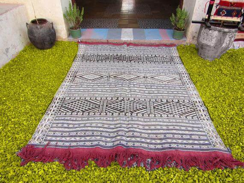 "The ""Rug of the tribes"", or ""Berber Rug"""