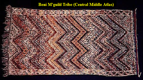 Beni M'guild Tribe (Central Middle Atlas)