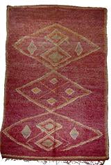 Red-Chichaoua-Moroccan-berber-rug 1