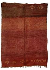 Red-Chichaoua-Moroccan-berber-rug 4