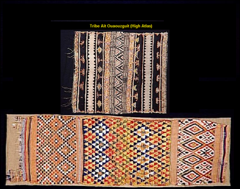 Ait Ouaouzguit tribe Rug type
